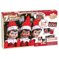 Elf on the Shelf - Wooden Jigsaw Puzzles