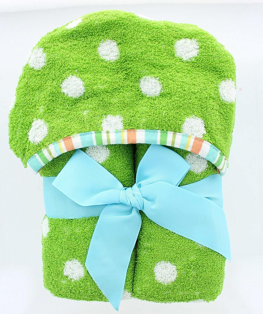 White 6 Cube Kids Toy Games Storage Unit Girls Boys: Polka Dots Kids Hooded Bath Towel