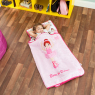 Everyday Kids Toddler Nap Mat with Pillow- Born to Dance