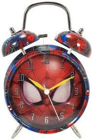 Spider-Man Twin Bell Alarm Clock