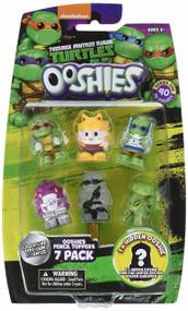 "Ooshies Set 2 ""TMNT Series 1"" Action Figure (7 Pack)"