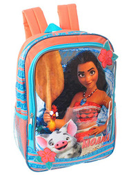 "Disney Moana Island Girl 16"" School Backpack"