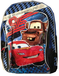 "Disney McQueen Cars 16"" Large Backpack"