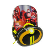 "Disney Pixar The Incredibles 16"" Backpack Set"