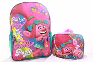 Trolls Girls School Backpack with Lunch Box