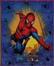 Spiderman Burst Fleece Throw