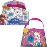 Disney Frozen Color and Style Purse Set