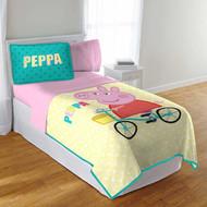 Peppa Pig Twin/Full Quilt and Sham Set