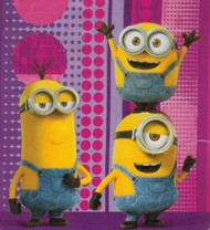 "Minion Plush Throw - ""Meet a Minion"""