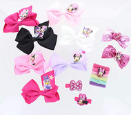 Little Girls Bows and Accessories Set