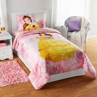 Disney Belle Reversible Twin Bedding Comforter