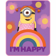 Despicable Me Minion Made Silky Soft Throw