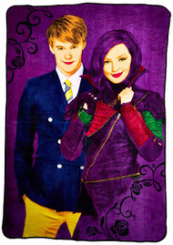 Disney Descendants Plush Blanket