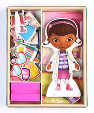 Disney Doc McStuffins Wooden Magnetic Playset