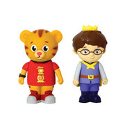 Daniel Tiger and Prince Wednesday Figures