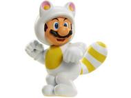 World of Nintendo White Tanooki Mario Figure