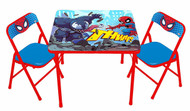 Spider-Man Superhero Adventures Table & Chairs Set