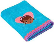 Doc McStuffins Teal Bath Towel