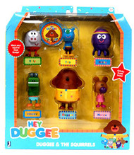 Hey Duggee Figure Set-Duggee and the Squirrels