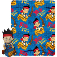 Jake and the Neverland Pirates - Plush with Fleece Throw