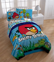 Angry Birds Super Soft Twin Comforter