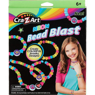 Cra-Z-Art Neon Bead Blast Jewelry Craft Kit