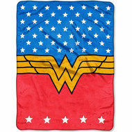 DC Wonder Woman Plush Throw