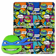TMNT Pillow and Throw Set