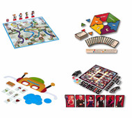 4-Pack Family Board Games