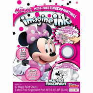 Imagine Ink Mess-Free Finger Paint Set, Minnie
