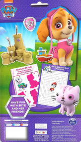 Paw Patrol Skye Wooden Magnetic Doll and Adventure Book