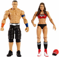 WWE John Cena and Nikki Bella- 2pk figure