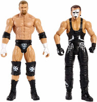 WWE Sting  and Triple H 2pk figure