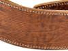 "2.5"" Brown Iguana Leather Guitar Strap"
