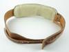 Vintage Brown Leather Banjo Strap: Cradle or Hook Style!