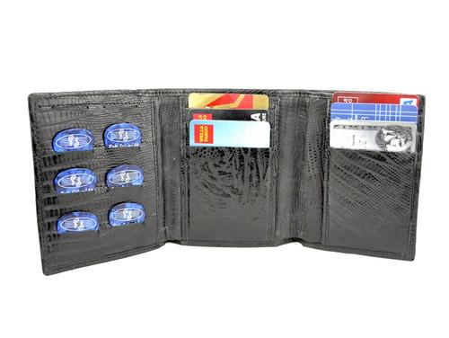 "Black Iguana ""Pick Panel"" Wallet - Tri-Fold"