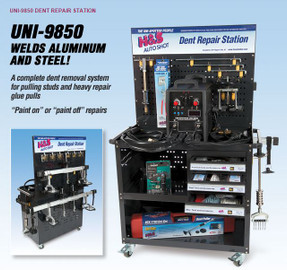 H & S Autoshot 9850 Complete Dent Repair Station - Aluminum/Steel