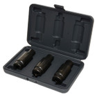 3 Piece Crank Nut Socket Set