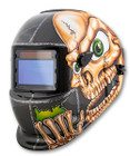 Skull Solar Powered Auto Dark