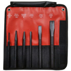 6 Piece Punch and Chisel Set