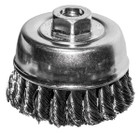 "2-3/4"" Knotted Wire Cup Brush"