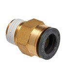 Straight Male Connector 5/8""