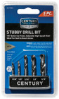 5 Piece Stubby Hex Shank Drill