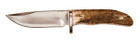 """7"""" Stag Horn Fixed Blade Knife"""