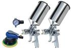4pc Spray Gun & Sanding Kit