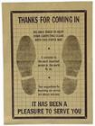 Paper Floor Mats 500 per box