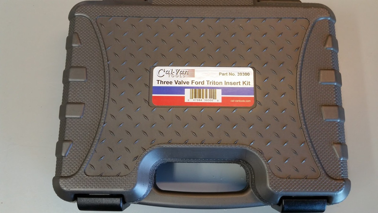 Cal-Van 39300 Ford Triton 3-Valve Insert Installer Kit