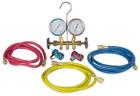 R134A Brass Manifold Kit