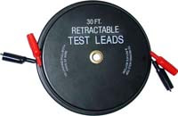 Retractable Test Leads 2x30ft