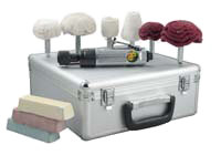 Air Buffer Wheel Polisher Kit